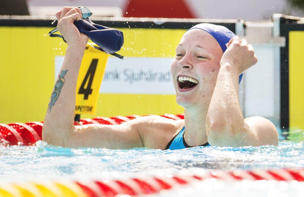 Sarah Sjöström slår världsrekord